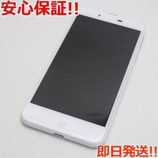 ディズニー(Disney)の超美品 DM-01J Disney Mobile ホワイト(スマートフォン本体)