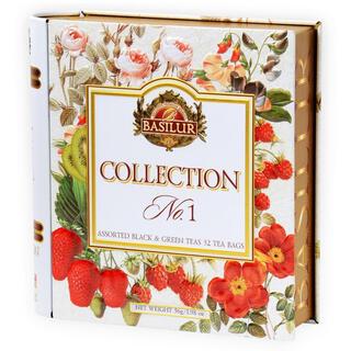 バシラーティー ギフト コレクションNO1 アソートブック缶  新品未開封(茶)
