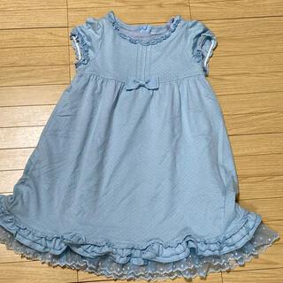 ミキハウス(mikihouse)のMIKI HOUSE   セレモニーワンピ 120(ドレス/フォーマル)