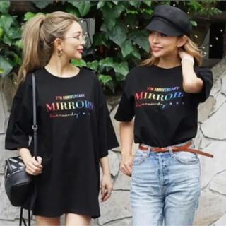 ナンバーナイン(NUMBER (N)INE)のmirror9 7周年記念Tシャツ(Tシャツ(半袖/袖なし))