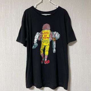 マクドナルド(マクドナルド)のマクドナルド×カーネルおじさん パロディーTシャツ (Tシャツ/カットソー(半袖/袖なし))