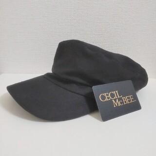 セシルマクビー(CECIL McBEE)の未使用 CECIL McBEE キャスケット 帽子(キャスケット)