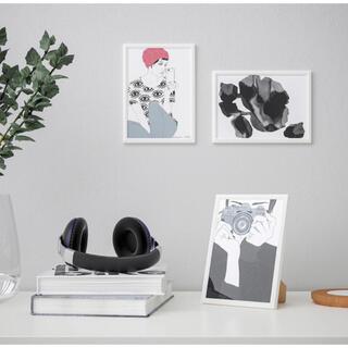 イケア(IKEA)の【IKEA】フレーム イレヴァード(ホワイト)2点セット(写真額縁)