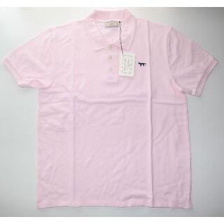 メゾンキツネ(MAISON KITSUNE')のmaison kitsune キツネ NAVY FOX ポロシャツ XL(ポロシャツ)