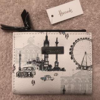 イギリス ハロッズ 二つ折り財布