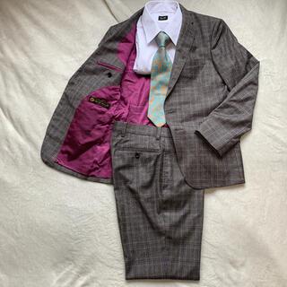 ロロピアーナ(LORO PIANA)の極美品!!VISARUNO × ロロピアーナ 裏地 ド派手 ビジネス スーツ(セットアップ)