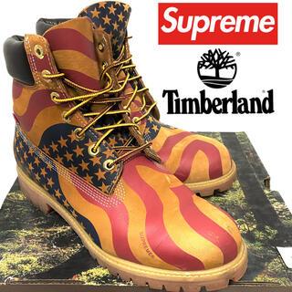 Supreme - Supreme×Timberland☆星条旗ブーツ☆28cm☆納品書あり☆