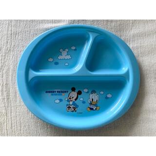 ディズニー(Disney)のディズニーリゾート ランチプレート ミッキー ドナルド(プレート/茶碗)
