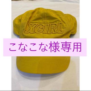エックスガール(X-girl)の【X-GIRL】キャップ(キャップ)