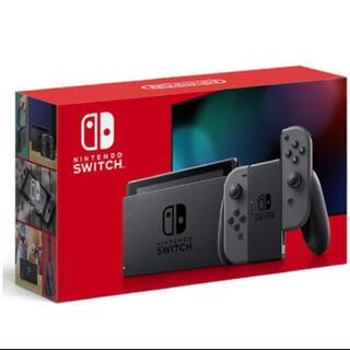 ニンテンドースイッチ(Nintendo Switch)のNintendo Switch 本体 スイッチ グレー(家庭用ゲーム機本体)