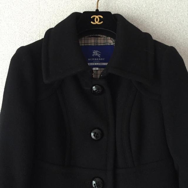 BURBERRY(バーバリー)の美品♡バーバリーブルーレーベル裾フリルコート レディースのジャケット/アウター(ロングコート)の商品写真