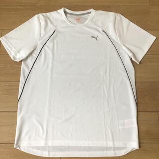 プーマ(PUMA)のプーマ  メンズ 半袖 Tシャツ Lサイズ 白 XLサイズ(日本サイズ)(Tシャツ/カットソー(半袖/袖なし))