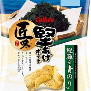 カルビー(カルビー)の堅あげポテト 燧灘産青のり味×12袋(菓子/デザート)