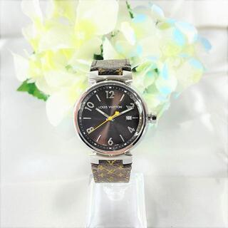 ルイヴィトン(LOUIS VUITTON)の美品☆ ルイヴィトン タンブールGM Q1111 クオーツ(腕時計(アナログ))