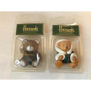 ハロッズ(Harrods)のHarrods(ハロッズ)ベア 陶器マグネット (置物)