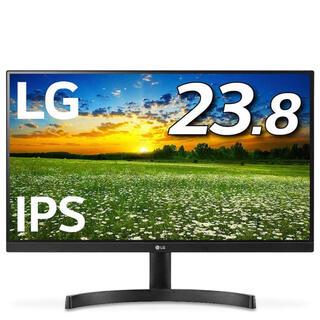 エルジーエレクトロニクス(LG Electronics)の【新品未使用】24MK600M-B 23.8インチ/フルHD/IPS 非光沢(ディスプレイ)