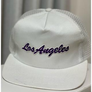 ニューエラー(NEW ERA)のジャスティンビーバー着用 leisure life LA Lakers cap(キャップ)