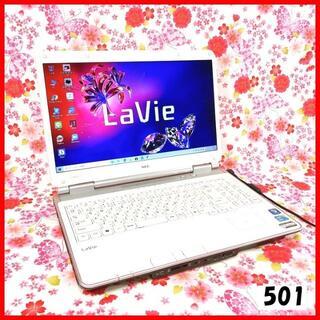 エヌイーシー(NEC)のノートパソコン本体♪Corei5♪新品SSD♪マウス付♪Windows10(ノートPC)