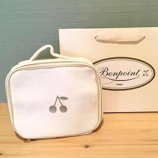 ボンポワン(Bonpoint)の新品 ボンポワン bonpoint ベロア スーツ ケース バニティ ポーチ S(その他)