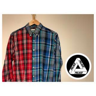 ヴァンズ(VANS)のPalace Skateboards チェックシャツ(シャツ)