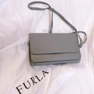 フルラ(Furla)のFURLA 2way ショルダーバッグ グレー(ショルダーバッグ)