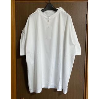 マルタンマルジェラ(Maison Martin Margiela)の白XS新品 メゾン マルジェラ アウトライン オーバーサイズ Tシャツ ホワイト(Tシャツ(半袖/袖なし))