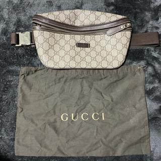 グッチ(Gucci)のGUCCI GGスプリーム 233269 ウエストバッグ(ウエストポーチ)