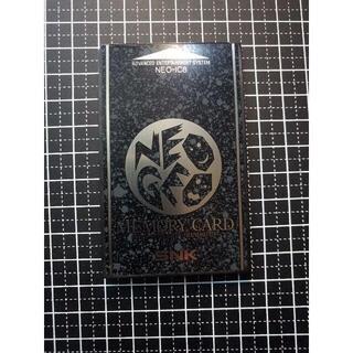 エスエヌケイ(SNK)の ネオジオ用メモリーカード(家庭用ゲーム機本体)