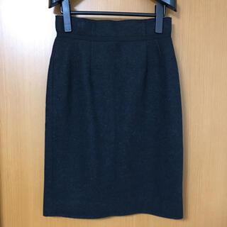 ナラカミーチェ(NARACAMICIE)のナラカミーチェ タイトスカート チャコールグレー(ひざ丈スカート)