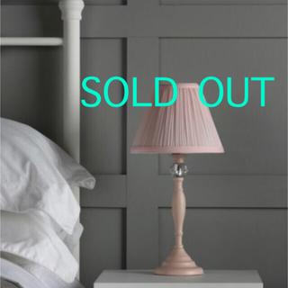 ローラアシュレイ(LAURA ASHLEY)の日本仕様♡ローラアシュレイ Ellis Table Lamp Pink 1台(テーブルスタンド)
