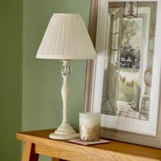 ローラアシュレイ(LAURA ASHLEY)の日本仕様♡ローラアシュレイ Ellis Table Lamp Cream 1台(テーブルスタンド)