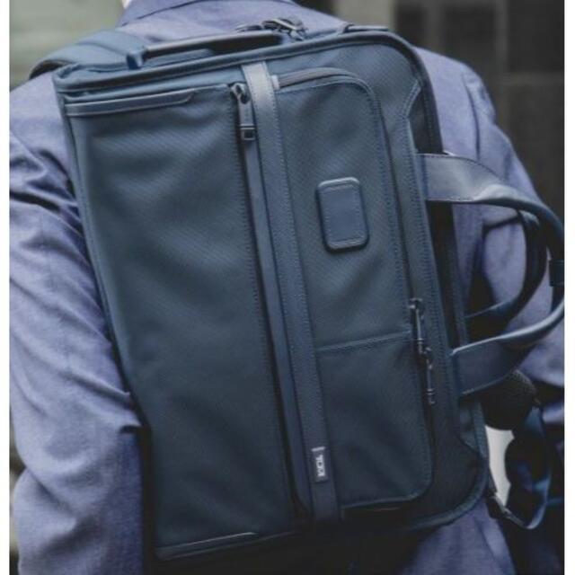 TUMI(トゥミ)のTUMI × SHIPS ALPHA 3 3WAY スリム ブリーフ メンズのバッグ(ビジネスバッグ)の商品写真