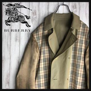 BURBERRY - 【ノバチェック】 BURBERRY トレンチコート バーバリー スプリングコート