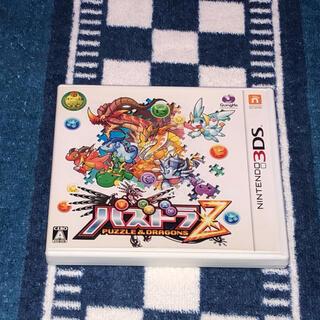 ニンテンドー3DS(ニンテンドー3DS)の【2個300円】  3DS パズドラZ  【ケース、取説付属無し】(携帯用ゲームソフト)