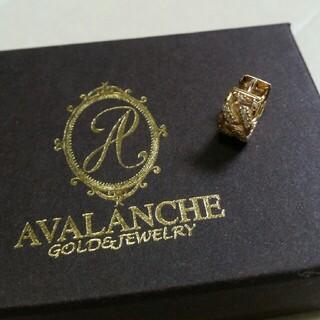 アヴァランチ(AVALANCHE)のアバランチ アヴァランチ avalanche 10k マイアミ ピアス ダイヤ(ピアス(片耳用))