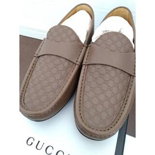 グッチ(Gucci)の新品未使用 GUCCI モカシン 7サイズ(スリッポン/モカシン)