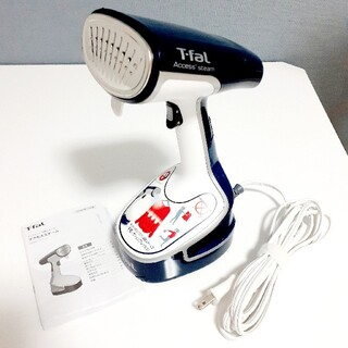 ティファール(T-fal)のT-fal  アクセススチーム  衣類スチーマー DR8085J0 ティファール(アイロン)