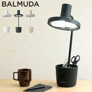 バルミューダ(BALMUDA)のバルミューダ ザ ライト BALMUDA The Light L01A ブラック(テーブルスタンド)