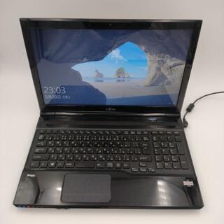 富士通  高速SSD128G搭載 ブルーレイ webカメラ(ノートPC)