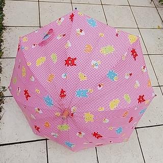 ミキハウス 傘 ピンク miki house(傘)