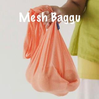 エディットフォールル(EDIT.FOR LULU)の【新品未使用】BAGGU バグー スタンダード Mesh cantaloupe(エコバッグ)