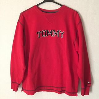 トミーヒルフィガー(TOMMY HILFIGER)の90s TOMMYHILFIGER トミーヒルフィガー トレーナー  ビッグロゴ(スウェット)