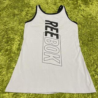 リーボック(Reebok)の【新品】Reebok リーボック タンクトップ L グレー系 タイト(タンクトップ)