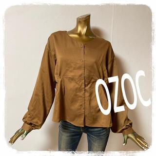 オゾック(OZOC)のOZOC ♥ 大人可愛い タック ブラウス(シャツ/ブラウス(長袖/七分))
