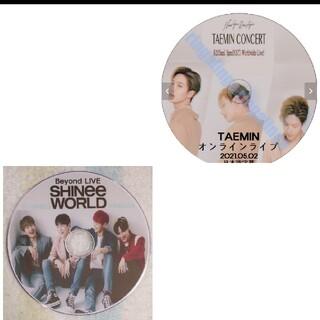 シャイニー(SHINee)のSHINee &TAEMIN☆オンラインBeyond LIVE♪DVD2枚セット(ミュージック)