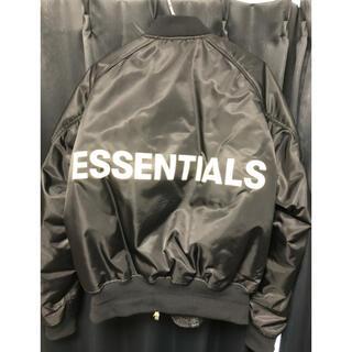 フィアオブゴッド(FEAR OF GOD)のFOG ESSENTIALS RaglanBomber Jacket Lサイズ(フライトジャケット)