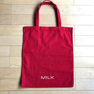 ミルク(MILK)のMILK ミルク トートバッグ 赤(トートバッグ)