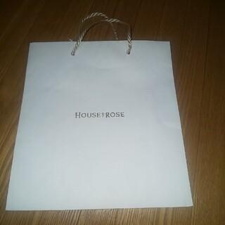 ハウスオブローゼ(HOUSE OF ROSE)のHOUSE OF ROSE ショップ紙袋(ショップ袋)