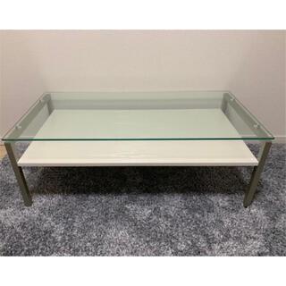 ニトリ(ニトリ)の【ニトリ】センターガラステーブル(ローテーブル)