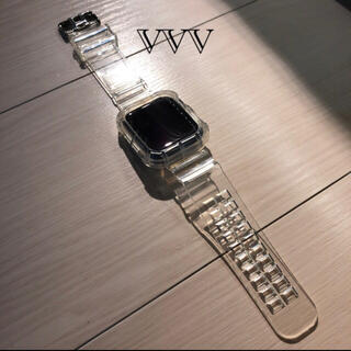 Apple Watch - Apple Watch クリアバンド 42mm/44mm